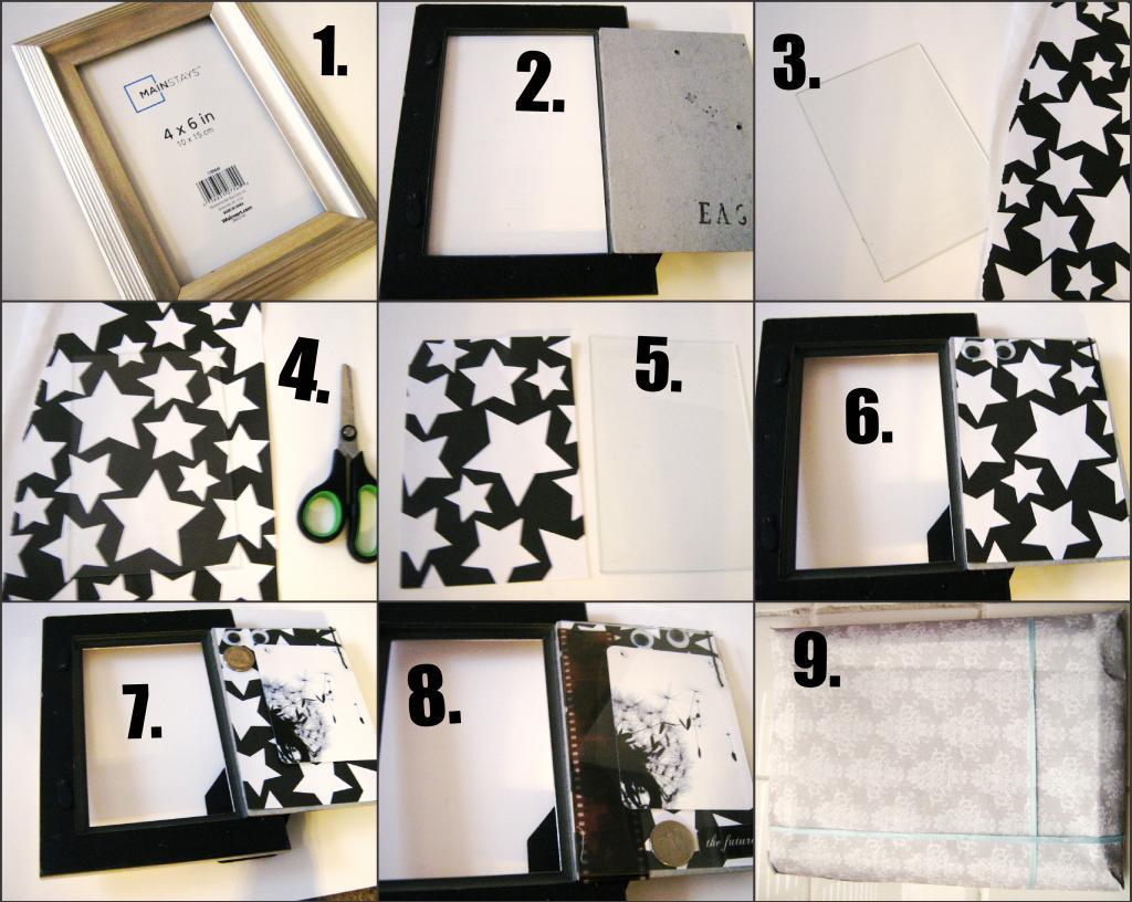 DIY: Photo Frame Parcel (simplisticparcels #2)   simplerevery